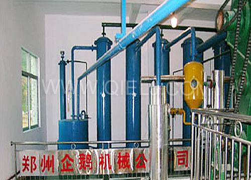 溶剂冷凝回收工序